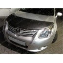 Toyota Avensis T27 (09-15) potah kapoty CARBON stříbrný