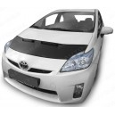 Toyota Prius (09-16) potah kapoty CARBON stříbrný