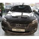 Toyota RAV4 (10-13) potah kapoty CARBON černý