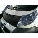 Peugeot Boxer II (06-14) potah kapoty CARBON stříbrný