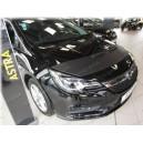 Opel Astra K (2015+) potah kapoty CARBON černý