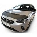 Opel Corsa F (2019+) potah kapoty CARBON stříbrný