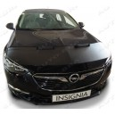 Opel Insignia B (2017+) potah kapoty CARBON stříbrný