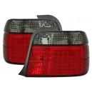 Zadní čirá světla BMW E36 Compact 92-98 – LED, červená/černá