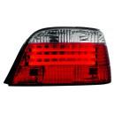 Čirá světla BMW E38 95-02 – červená/krystal