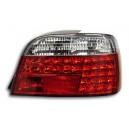 Čirá světla BMW E38 95-02 – LED, červená/krystal
