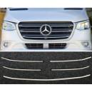 Mercedes Sprinter W907 lišty přední masky