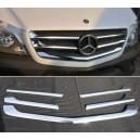 Mercedes Sprinter W906 Facelift lišty přední masky