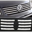 VW T5 Transporter lišty přední masky