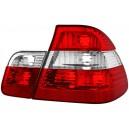 Čirá světla BMW E46 Lim. 01-05 – červená/krystal