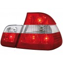 Čirá světla BMW E46 Lim. 98-01 – červená/krystal