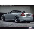 Mercedes Benz SLK R170 zadní nárazník EXCLUSIVE LINE