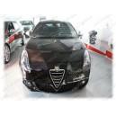 Alfa Romeo Giulietta (2010+) potah kapoty CARBON černý
