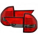 Zadní čirá světla BMW E83 X3 04-10 - LED, červená/kouřová