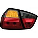 Čirá světla BMW E90 3er Lim. 05-08 – LED, červená/kouřová