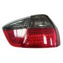 Zadní čirá světla BMW E90 3er Lim. 05-08 – LED, červená/kouřová