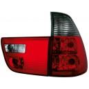 Čirá světla BMW X5 00-02 – červená/kouřová