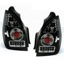 Čirá světla Citroen C2 03-05 – LED, černá