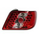 Čirá světla Citroen Xsara 97-00 – LED, červená/krystal