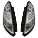 Zadní čirá světla Fiat Grande Punto 05+ _LED, krystal