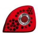 Čirá světla Ford Fiesta 4/5 95-99 - LED, červená/krystal