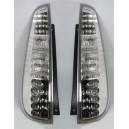 Čirá světla Ford Fiesta MK6 03-06 3dv. – LED, krystal