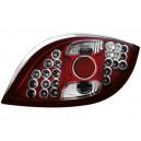 Čirá světla Ford KA 96-08 – LED, červená/krystal