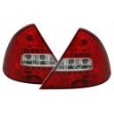 Zadní čirá světla  Ford Mondeo MK3 00-07 - LED, červená/krystal