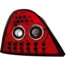 Zadní čirá světla Rover 200 95-00 – LED, červená/krystal