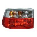 Čirá světla Opel Astra F 91-97 – červená/krystal