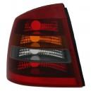 Zadní čirá světla Opel Astra G Lim./Hatch 98-04 – červená/tmavá