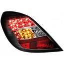 Čirá světla Opel Corsa D 06-08 5dv. - LED, černá