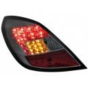 Zadní čirá světla Opel Corsa D 06-08 5dv. - LED, kouřová
