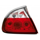 Zadní čirá světla Opel Tigra 94-00 – červená/krystal