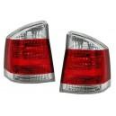 Čirá světla Opel Vectra C 02-07 – červená/krystal