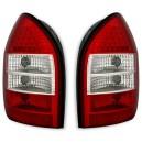 Zadní čirá světla Opel Zafira A 99-05 – LED, červená/bílá