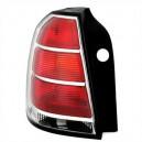 Zadní čirá světla Opel Zafira B 05-08 – červená/krystal