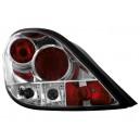 Zadní čirá světla Peugeot 207 06-09 – chrom