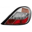 Čirá světla Peugeot 207 06-09 – chrom, LED Blinkr