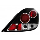 Zadní čirá světla Peugeot 207 06-09 – černá