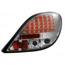 Čirá světla Peugeot 207 06-09 – LED, krystal