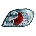 Zadní čirá světla Peugeot 307 01-08 – LED, krystal