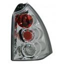 Čirá světla Peugeot 307 SW 02-05 – chrom
