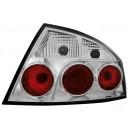 Zadní čirá světla Peugeot 407 04+ 4dv. – chrom