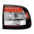 Čirá světla Porsche Cayenne 03-07 - LED, černá