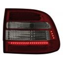 Zadní čirá světla Porsche Cayenne 03-07 - LED, červená/kouřová