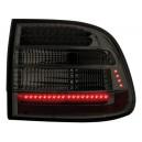 Zadní čirá světla Porsche Cayenne 03-07 - LED, kouřová