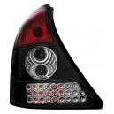 Čirá světla Renault Clio II 98-01 - LED, černá
