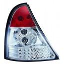Čirá světla Renault Clio II 98-01 - LED, krystal