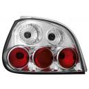 Zadní čirá světla Renault Megane 5dv. 99-02 – chrom